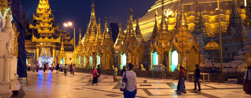 Yangon, Myanmar: Gold, Diamanten und ein opulentes Mahl
