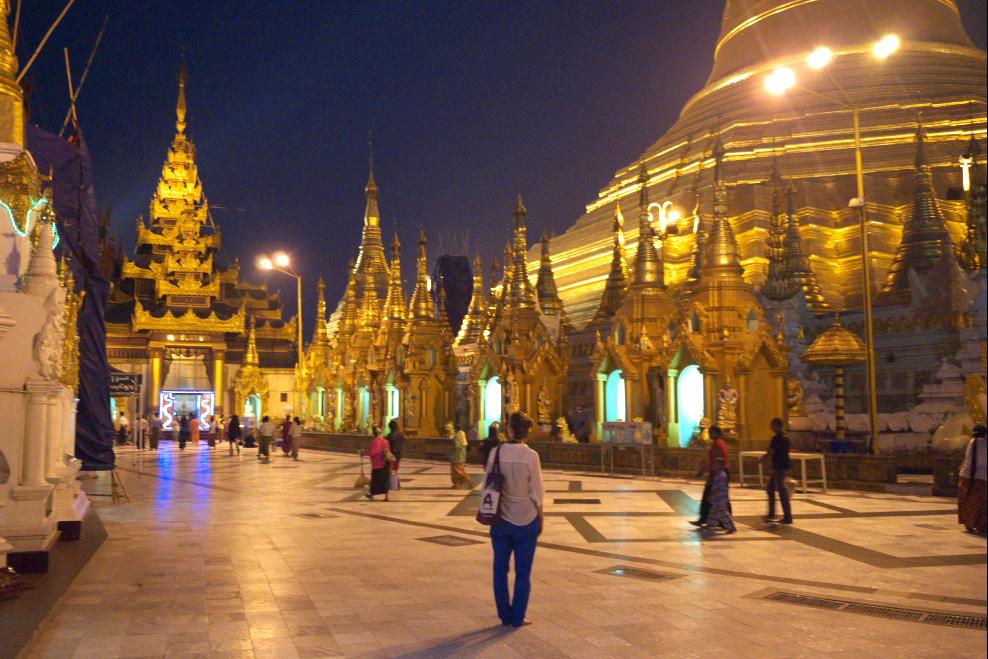 Schwedagon Pagode: Die Jäger des verlorenen Schmatzes in Yangon