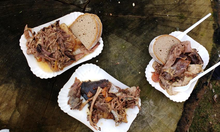 Pulled Pork mal anders: saftig-zarter WIldschweinbraten mit brandenburgischer Waldluft