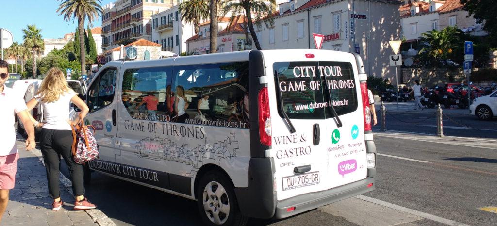 Geführte Game of Thrones Tour durch Dubrovnik