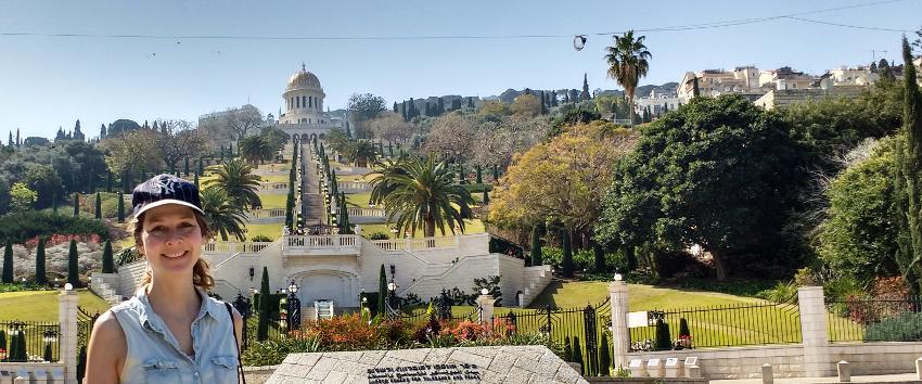 Die Bahai-Gärten in Haifa: Sightseeing mit integriertem Fitnesstraining
