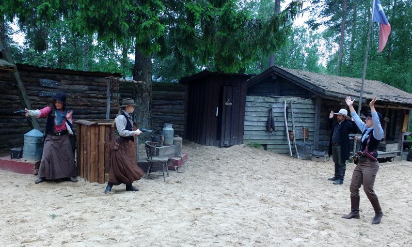 Bullerbü-Ferien in Smaland_Schweden_Westernstadt High Chaparral