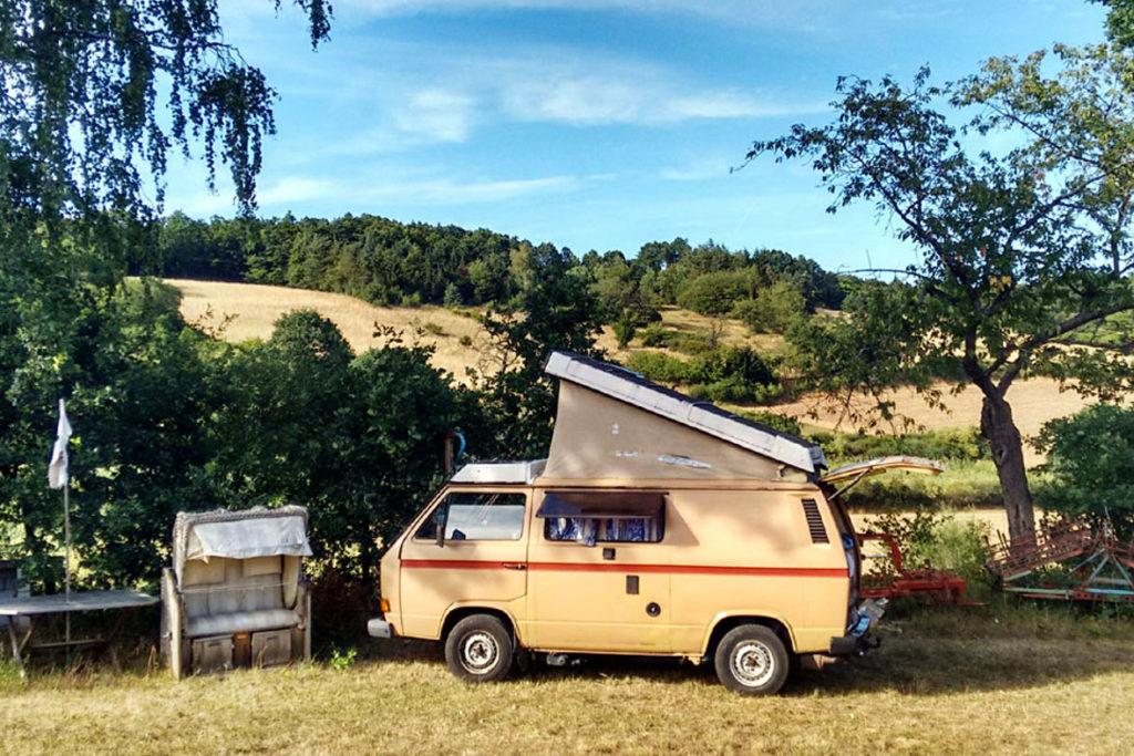 schöner campingplatz sardinien