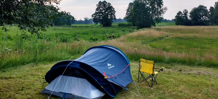 Über Campr gefunden: Zeltplatz mit Ausblick und Familienanschluss