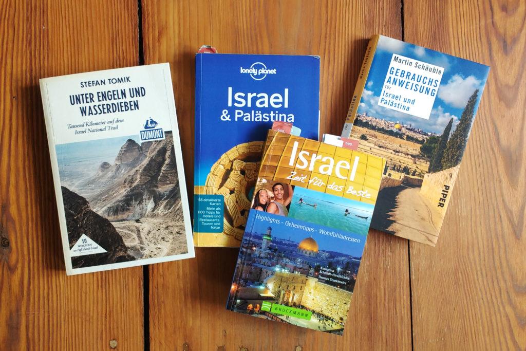 Reiseführer Bücher Reiselektüre für Israel