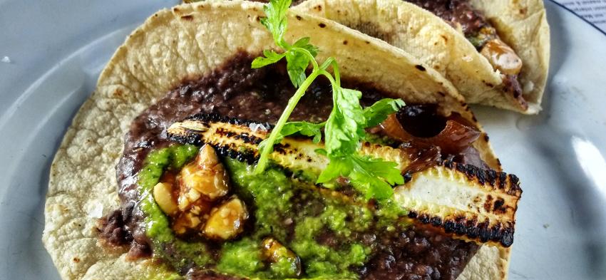 La Lucha - kreative mexikanische Kueche in Berlin - Maiz y Frijol
