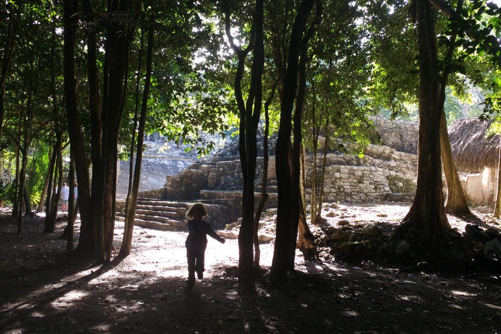 An den Maya-Ruinen von Coba fühlten wir uns wie Indiana Jones