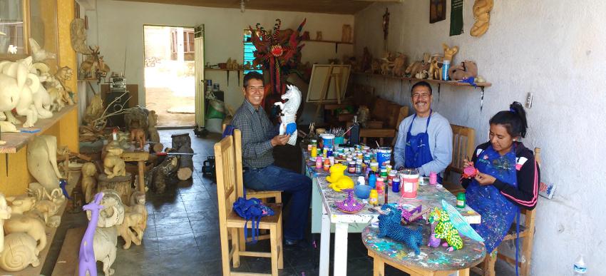 20180427_Oaxaca Alebrijes Don Angelico Arrazola (c) Jäger des verlorenen Schmatzes