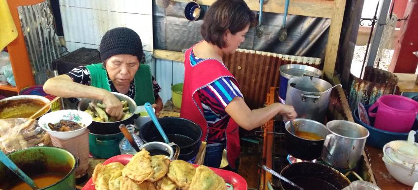 Unsere Lieblings-Garküche auf dem Mercado Sanchez Pascuas