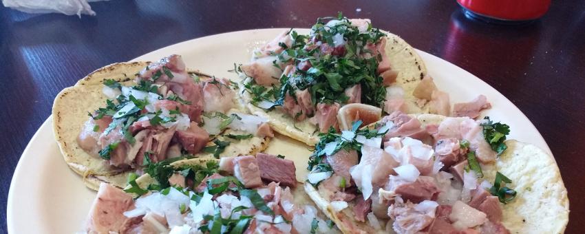 7 krasse Delikatessen in Mexiko - Taco de Cabeza (c) www.jaegerdesverlorenenschmatzes.de