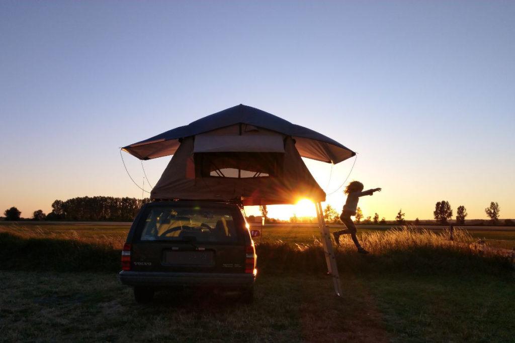 Mit dem PKW und Dachzelt durch Brandenburg: frei campen und gut essen