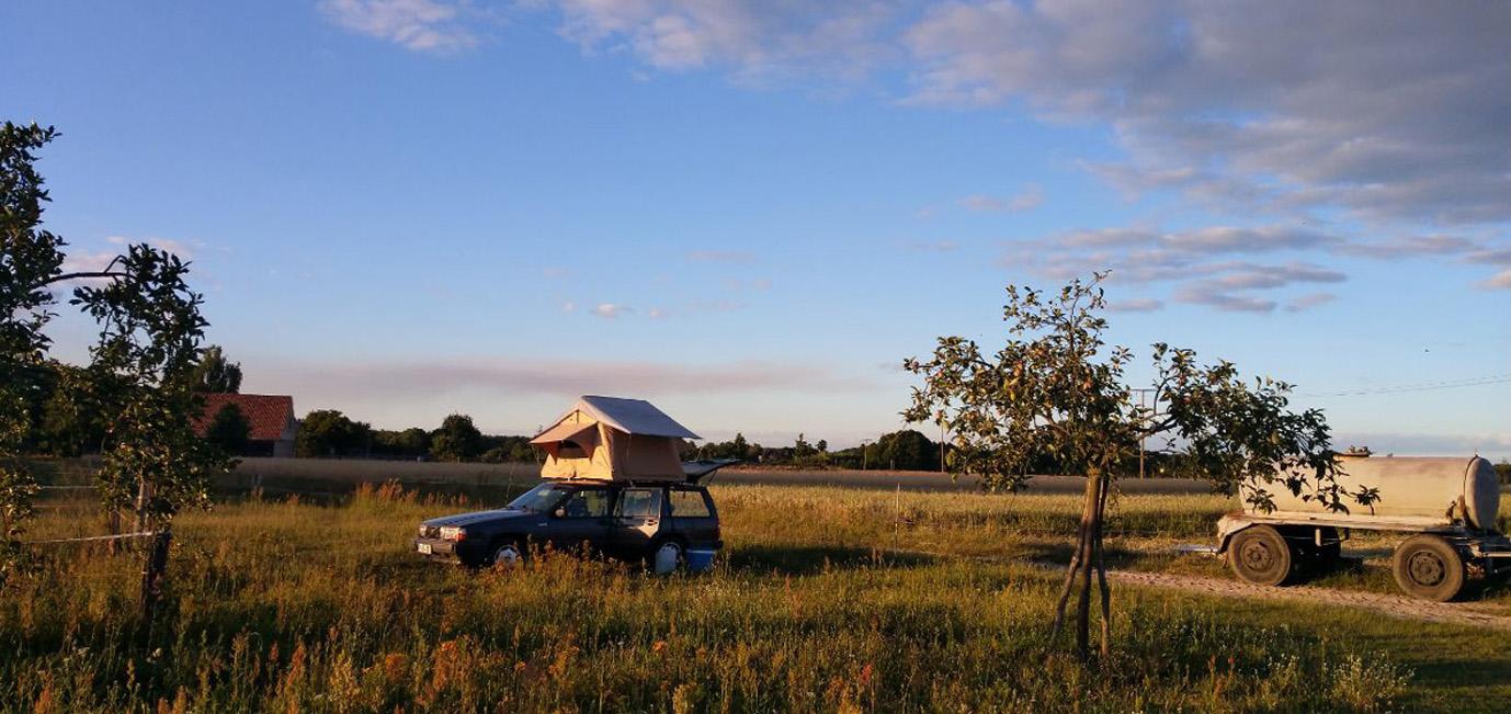 Camping auf dem Bauernhof: Viel Platz und jede Menge Abenteuer, nicht nur für Kinder