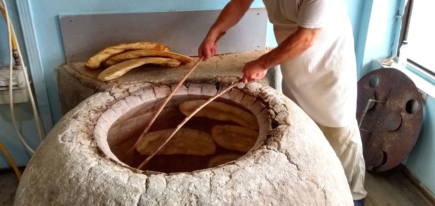 Georgische Backstube Bäcker Brot
