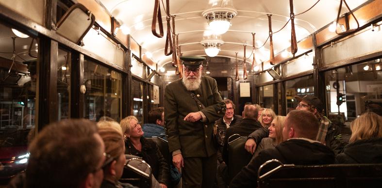 Historische Straßenbahn Pop Up 2025 Magdeburg