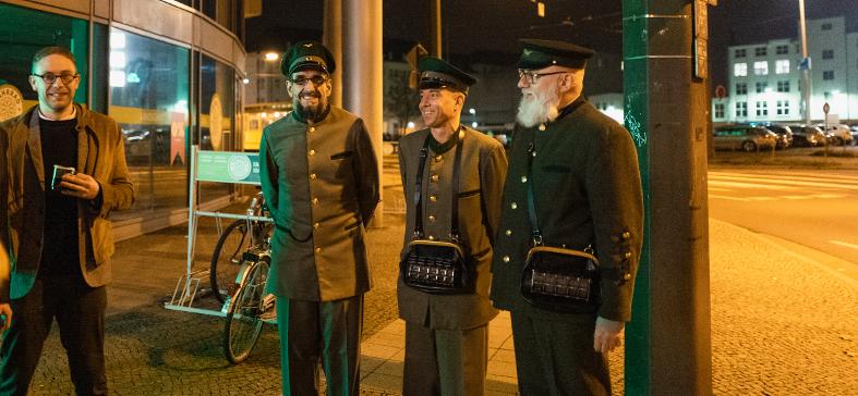 Wer sind die Herren in Uniform?