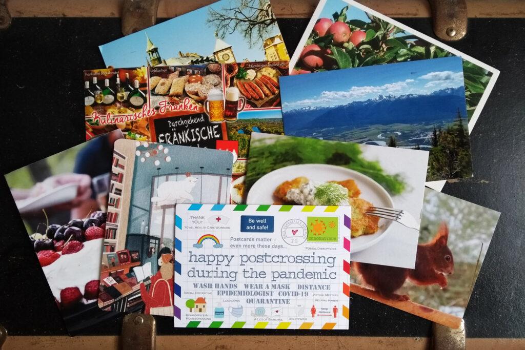 Postcrossing Postkarten Reisen in Zeiten der Pandemie